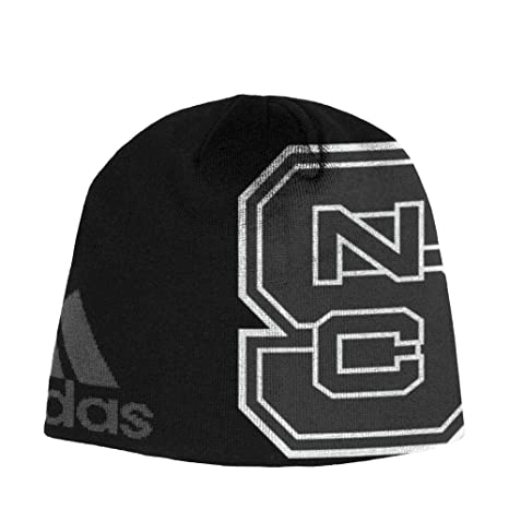 e1d937b391d8be Image Unavailable. Image not available for. Color: adidas NCSU NC State  Wolfpack Beanie Black Knit Hat