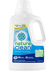 Nature Clean Liquid Laundry Detergent, Sensitive Skin Tested, Fragrance Free, 1.8L, 60 loads