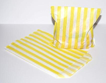 Bolsas de papel para dulces de colores mezclados, paquete de ...
