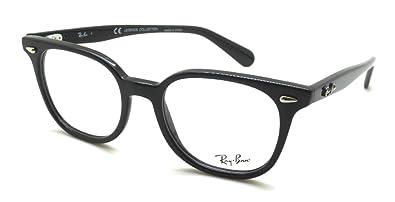 3cbd0d078bf Amazon.com  Ray Ban RX5299 Eyeglasses-2000 Shiny Black-51mm  Shoes