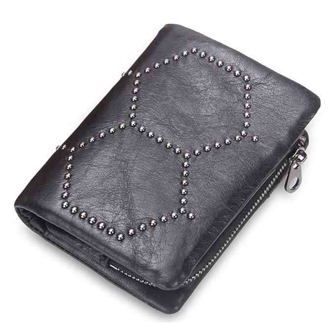 Amazon.com: GROSSARTIG Mens Wallet Clutch Bag Studded Bag ...