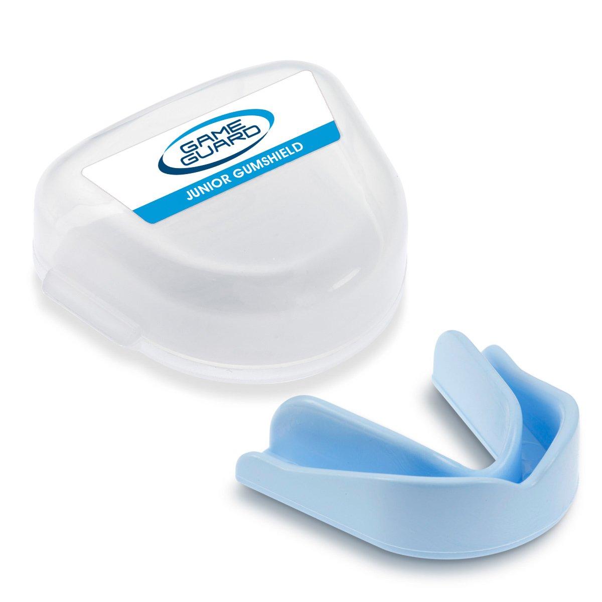 Game Guard Boil & Bite Mundschutz/Zähne Guard/,–Baby Blau–Mundschutz, CE-zugelassen, ideal für Schule Sport ideal für Schule Sport Paul Norman Plastics Ltd