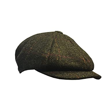 Failsworth Carloway 100% Wool Harris Tweed Cap at Amazon Men s ... 8229119fd9a