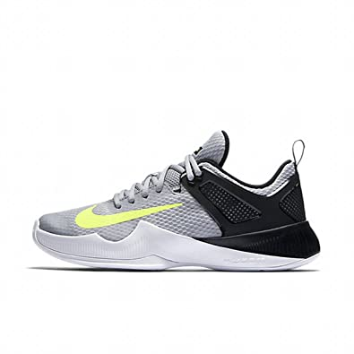 Discount Nike Air Zoom Hyperace Wolf Grey Volt Black Volleyball Shoes for Women Sale
