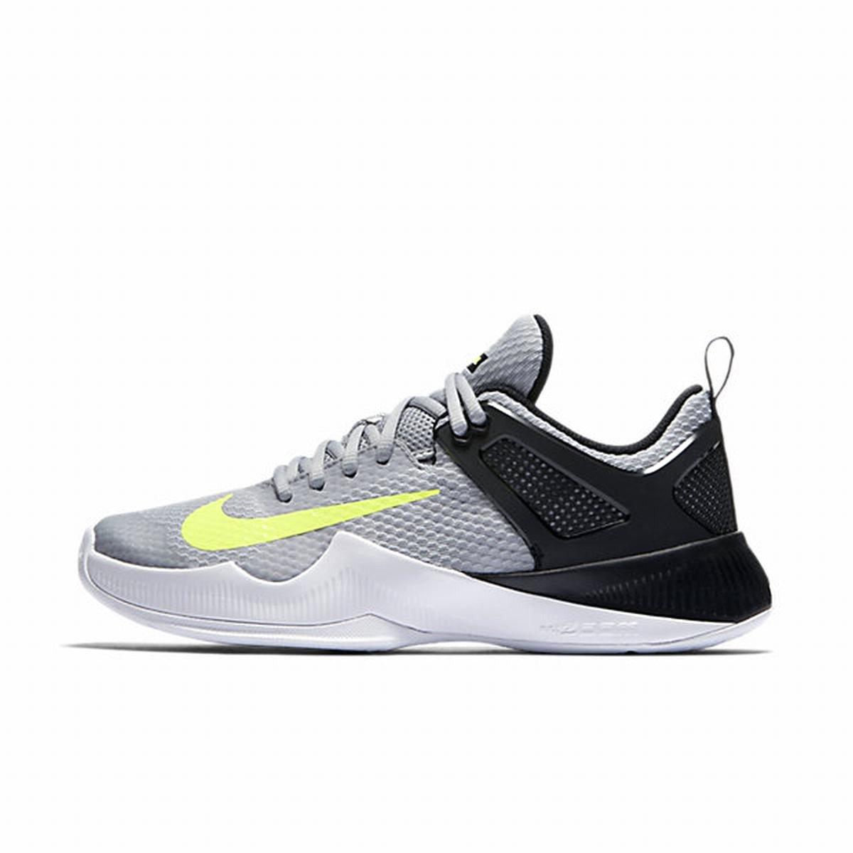 Nike Womens Air Zoom Hyperace Running Shoes ( 9 B(M) US , Wolf Grey / Volt - Black )