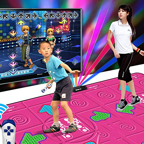 Smart toy Dance Fighter King Dance Mat Double TV Computer Interface Home Running Game Console 0515A by Smart toy (Image #2)