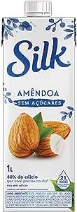 Bebida Vegetal Amendôa Sem Açúcar Silk 1L