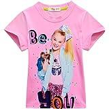 SCHWARZWALD Girls T-Shirt for JoJo Siwa Short Sleeve Clothes for Children