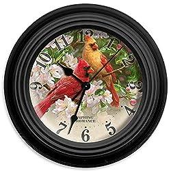 Reflective Art 10 Spring Romance Wall Clock