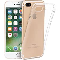 提亚TIYA IPhone 8 Plus手机壳 苹果 7 Plus 保护套 透明软壳 TPU 超薄手感 优质触感 防滑防摔 附带透明钢化膜和软后膜(苹果8/7 Plus透明水晶套 5.5寸)