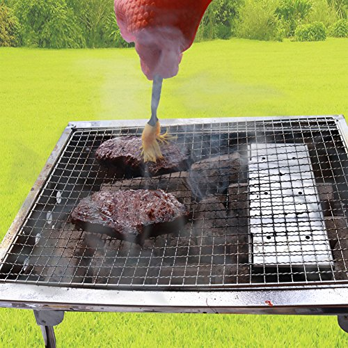 mockins Even Thicker Stainless Steel BBQ Smoker Box For Grilling Barbecue Wood Chips On Gas Or Charcoal Grills …