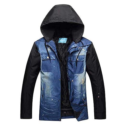 5009bedc5 Amazon.com: OLEK Men's Snowboarding Jackets Ski Jacket Pants Set ...
