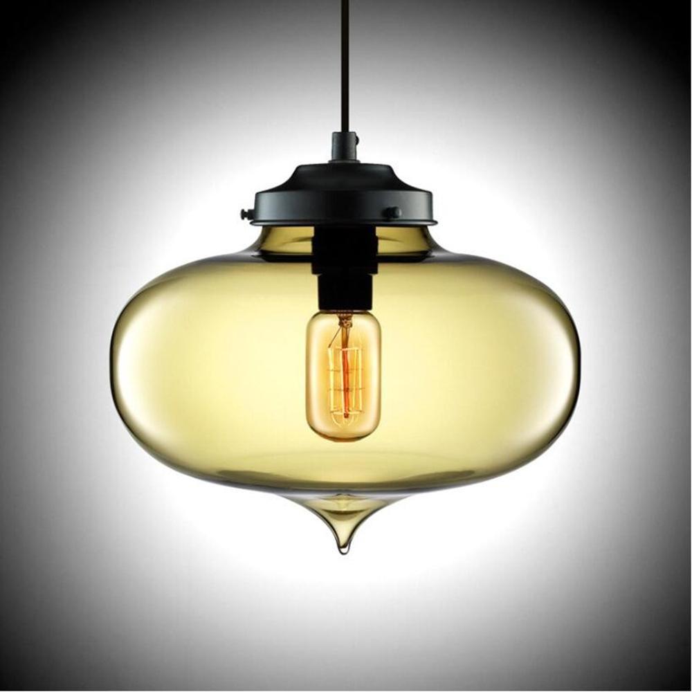 MingDE Europäische retro industrielle kronleuchter runde glas kronleuchter kreative Persönlichkeit kronleuchter kronleuchter moderne kronleuchter bar kronleuchter, amber