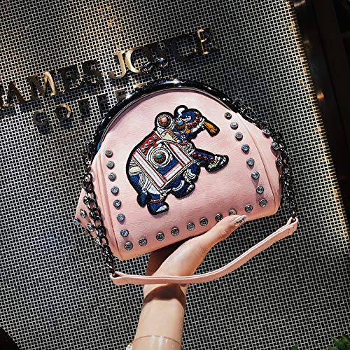 Sac Sac Mode Mode à Vent à du coréenne rétro Femme Sac bandoulière bandoulière Version Sauvage WSLMHH Rose de la Sac coréenne La bandoulière la à de pUAqB