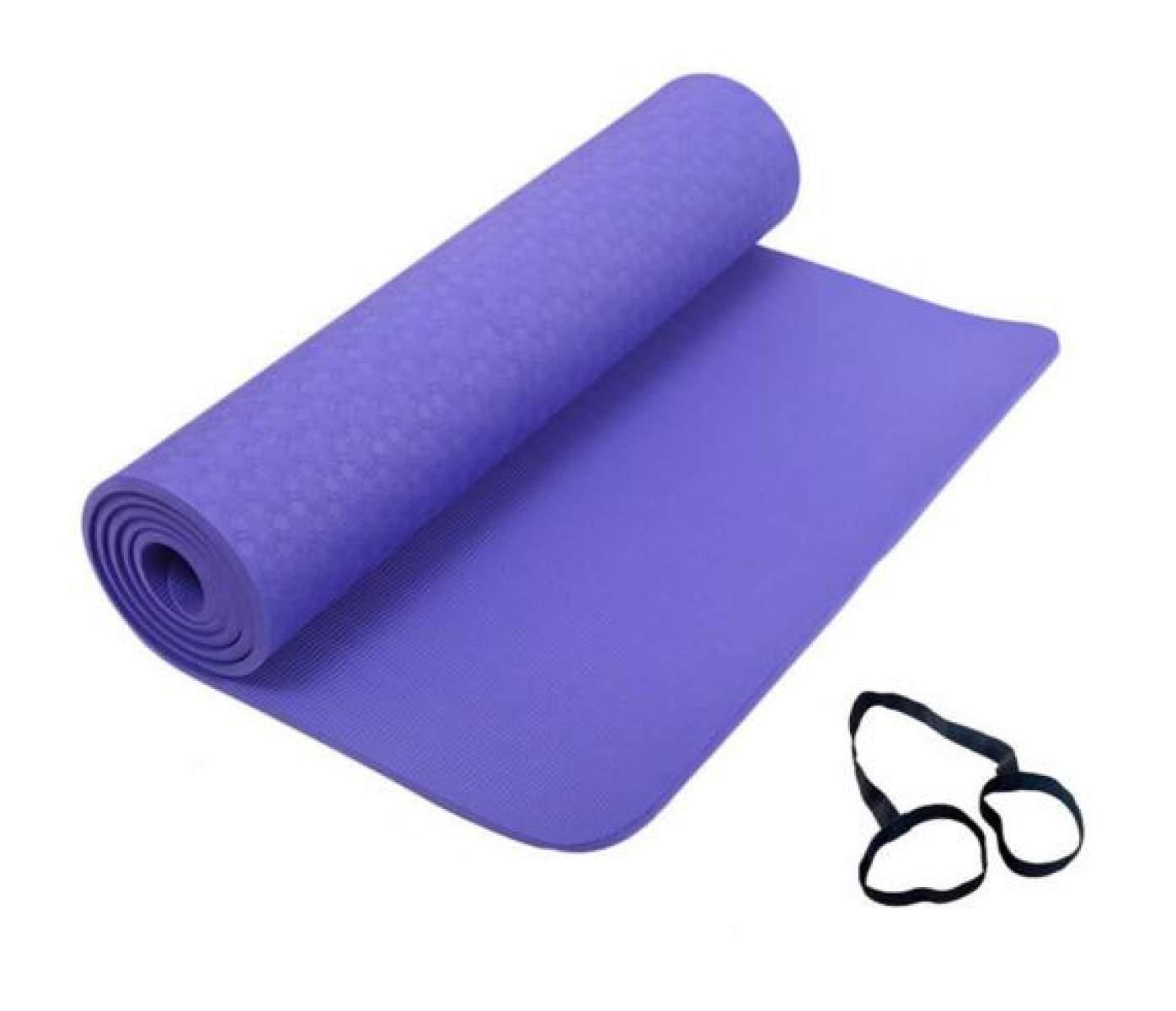 ZHANGHAOBO Yoga-Matten Anti-Rutsch-Fitness-Matten Verlängerte Erweiterte Gymnastik-Matten,A3