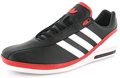 brand new 246c6 60e47 ... low cost mens gents black adidas tumbled leather porsche design  trainers. black white 9b717 09da0 ...