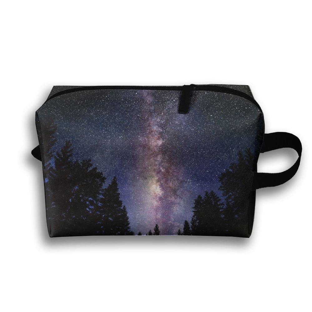 Yiot Galaxy-wallpaper Travel Toiletry Organizer Bag low-cost ... 8925b4533cd4e