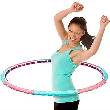 meteor hula hoop premium magnetic massage hula hoop step 3 1 6kg