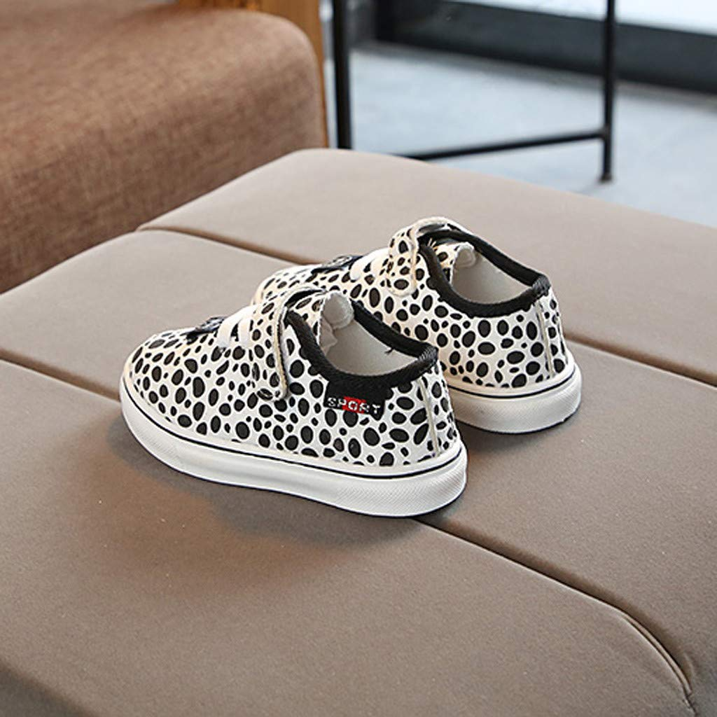 S.H.EEE Children Toddler Baby Leopard Print Sneaker Soft Anti-Slip Sport Shoes
