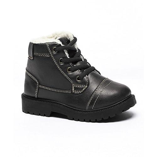 17973f3a52d6 Shocked Little Boys  Sherpa Lined Work Boot (5 6 M US Little Kid