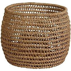 Ethan Allen Hand-woven Flo Basket, Large