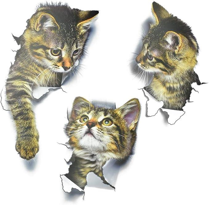 10099 Wandtattoo Katzen Kätzchen Katzenfamilie ab18,50 € Wandaufkleber Tiere