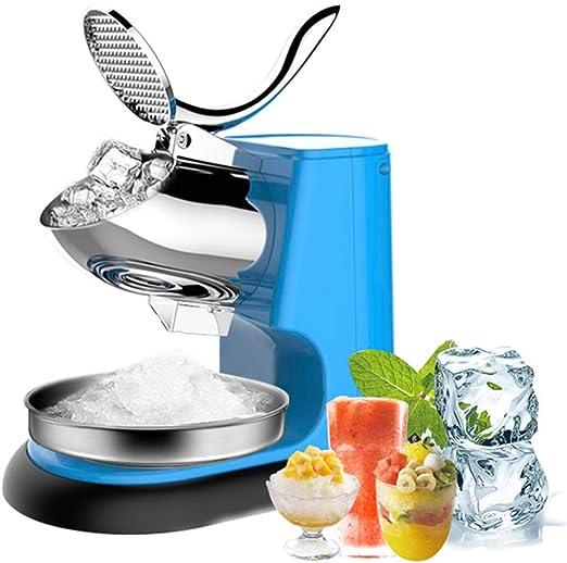 Trituradora de hielo eléctrica máquina de hacer hielo comercial ...