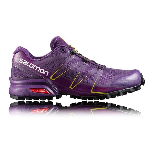 Purple cosmic Salomon Trail Violet Femme L38309000 Chaussures De wqwSO0T