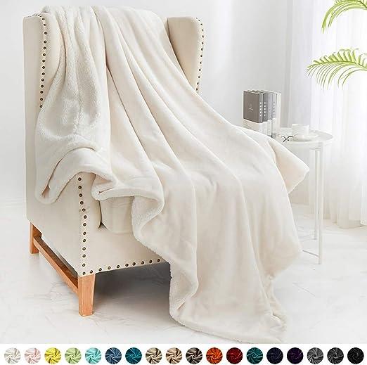 Home Flannel Fleece Bedroom Blanket Ultra Soft Plush Fuzzy Cozy Warm Throw Sofa
