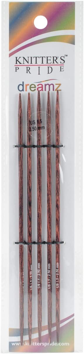 assorted diameters \u2013 1.5-5.0 mm pack of 2 PONY 35 cm Knobbed knitting needles