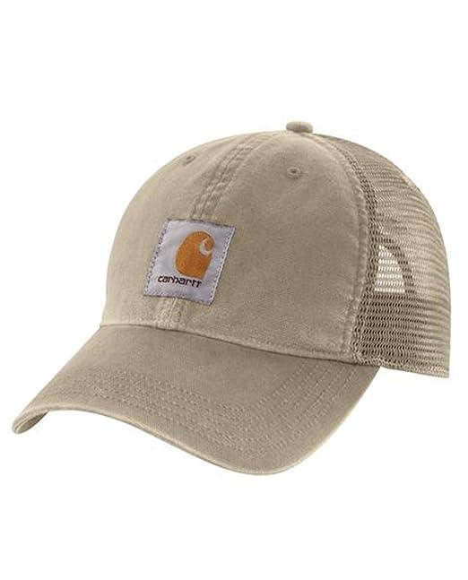 Carhartt Gorra Buffalo - Tan sombrero gorra de beisbol logotipo ...
