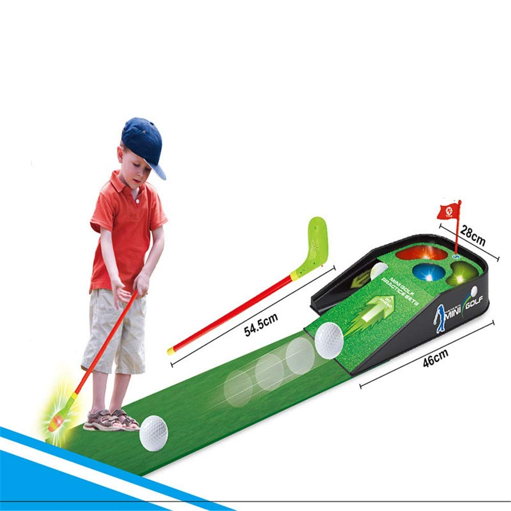 Golf Toys Set Children'Golf Practice Sets Present Boy Toy Sports Toys Birthday Kids Girls Outdoor Indoor Exercise Toy (Color, Size : One Size) by JIANGXIUQIN-Toy
