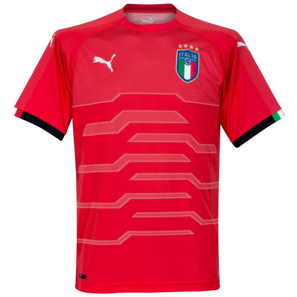 Puma Herren FIGC Italia Goalkeeper Shirt Replica Ss