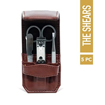 50f18f6eccbc Amazon.com : Manscaped The Shears Stainless Steel Men's Nail Kit ...