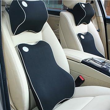 Altopcar Car Seat Lumbar Back Support Cushion Neck Pillow Memory Foam For Lower