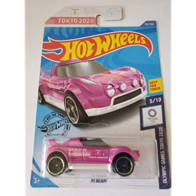 Hot Wheels 2020 Olympic Games Tokyo Hi Beam, Pink 155/250: Toys & Games