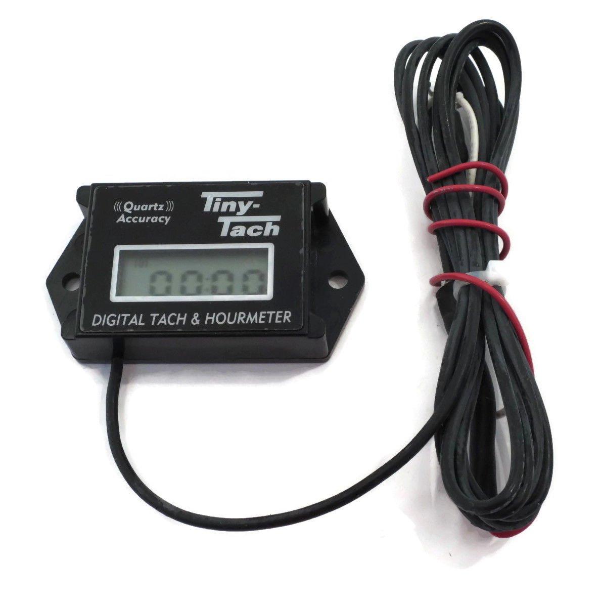 Amazon Tiny Tach Digital Tachometer and Hour Meter TT2B – Digital Tachometer Wiring Spark Plug