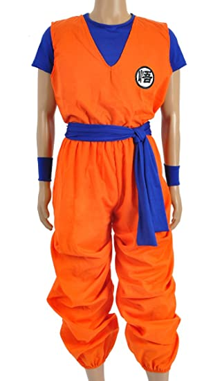 b594f886a6f4d CoolChange Drachenball 3 Teiliges Son Goku Cosplay Kostüm