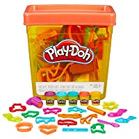 Play-Doh B1157 Fun Tub 5 Cans