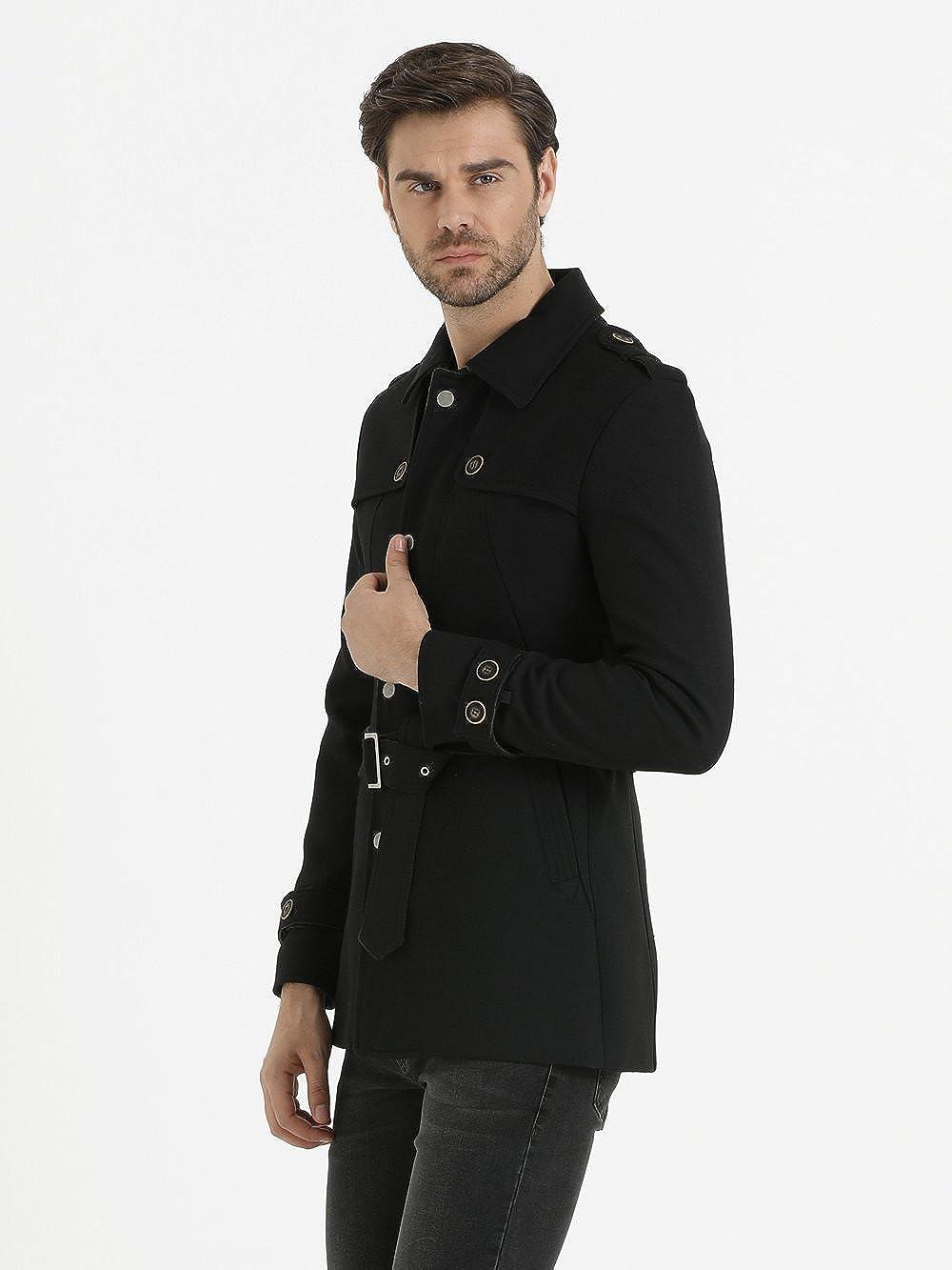 SAYKI Vilnius Black Overcoat