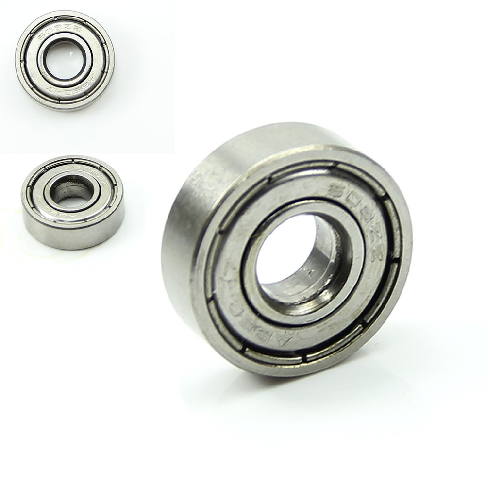 roller ball bearing. amazon.com : estone 10pcs roller skateboard sco oter blade ball bearings wheels silver abec-5 608-zz sports \u0026 outdoors bearing