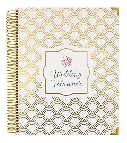 bloom daily planners Undated Wedding Planner - Hard Cover Wedding Planner & Organizer - 9