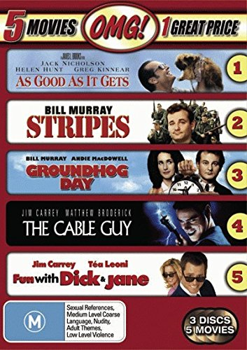 As Good As It Gets + Groundhog Day + Stripes + ... [NON-USA Format / PAL / Region 4 Import - Australia]