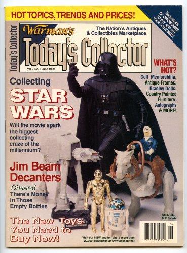 Jim Beam Collectors - Today's Collector Magazine June 1999  Star Wars * Jim Beam Decanters