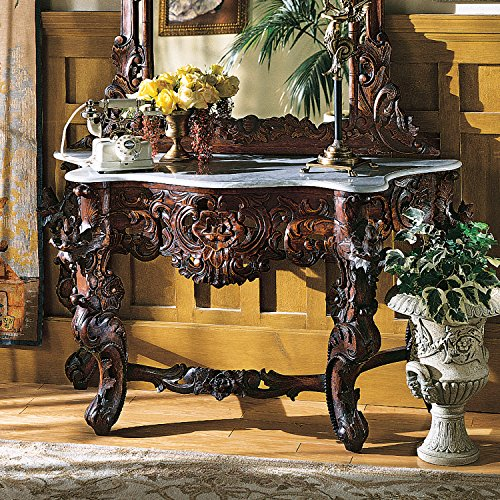 Queen Anne Console Table - 8