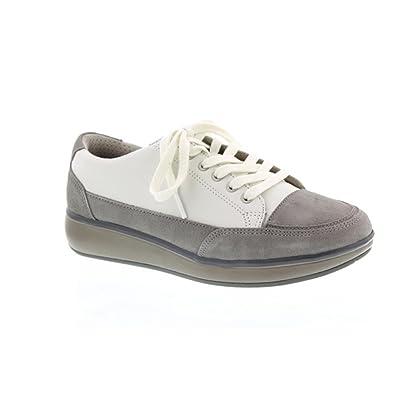 buy online 4b57b 20d2f Joya Damen Schnuerschuhe Sonja White grau 45067