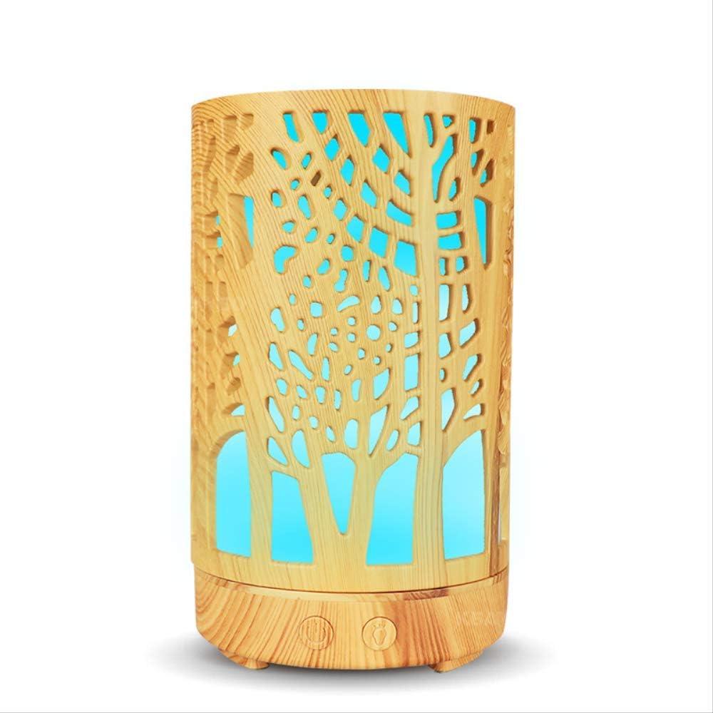MLACOBD humidifierHumidificador de aire aceite esencial aroma difusor de aire purificador de aire cilindro hueco con ...