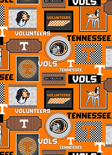 University Tennessee Fabric - 9