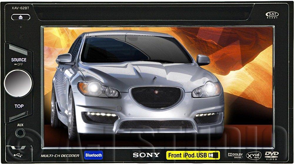 sony xav-62bt - car media receivers (usb, aac, mp1, mp2, mp3, wma, lcd, 800  x 480 pixels, black, 2 v): amazon co uk: hi-fi & speakers