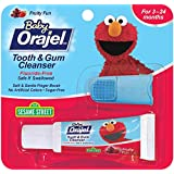 Orajel Baby Elmo Tooth and Gum Cleanser with Finger...